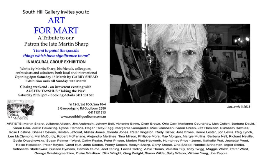 Art For Mart invitation
