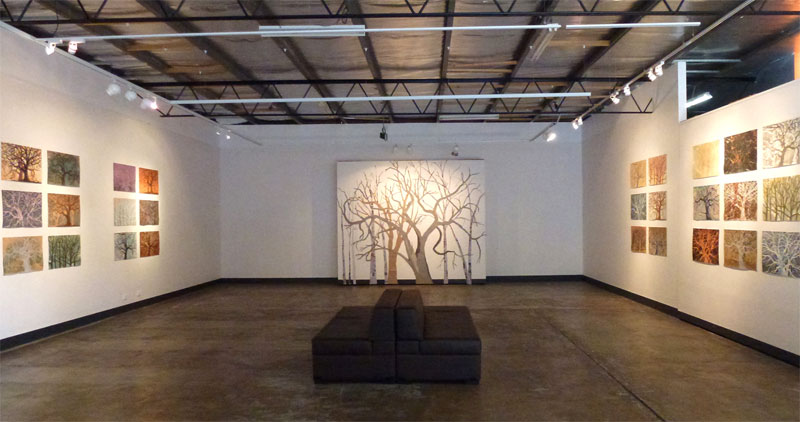 The Tree in Changing Light Exhibition
